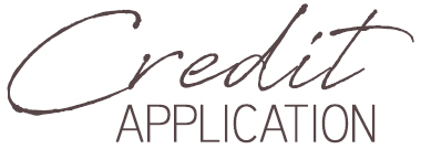 Credit Application Header